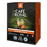 Café Espresso Forte CAFÉ ROYAL 36 Unités