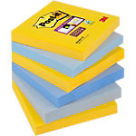 Notes adhésives Post it 76 x 76 mm Collection New York 6 Unités de 90 Feuilles