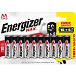 Piles Energizer Max AA Paquet économique 15 + 5 gratuit