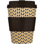 Mug Ecoffee Cup Threadneedle 350 ml Brun
