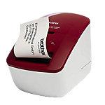 Imprimante d'étiquettes thermique Brother QL 600R Rouge