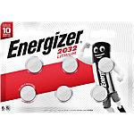 Piles Energizer Pile bouton au lithium CR2032 6 Unités