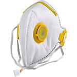 Masque de protection à valve BBrand FFP3 Blanc 20 unités