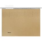Dossiers suspendus Biella A4 25 cm Olive Avec accessoires Paquet de 25 unités