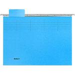 Dossiers suspendus Biella A4 Original 25 cm avec accessoires Bleu Paquet de 25 unités