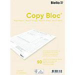 Carnet de rapports de régie Biella A5 Paquet de 5
