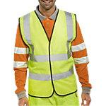 Gilet haute visibilité B Seen Polyester 3XL Jaune