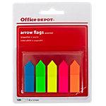 Marque pages Office Depot Arrows Assortiment 5 Unités de 25 Bandes