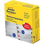 Pastilles autocollantes AVERY Zweckform 3857 Spécial Bleu 250 Étiquettes