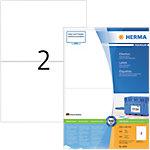 Étiquettes multifonctions HERMA Blanc 148 x 210 mm 200 Feuilles