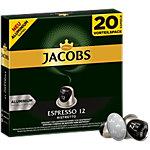 Espresso 12 Ristretto Jacobs Capsules en aluminium 20 Unités de 5.2 g