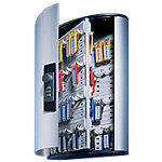 Armoire à clés DURABLE KEY BOX code 72 argenté 72 crochets 30 x 11.8 x 40 cm