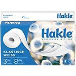 Papier toilette Hakle 3 épaisseurs 8 Rouleaux de 150 Feuilles