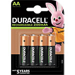 Piles rechargeables Duracell Ultra Power AA LR6 2400mAh NiMH 1,2V 4 Unités