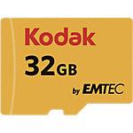 Carte mémoire Kodak Micro SDHC 32 Go
