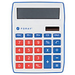 Calculatrice de bureau Foray Generation 10 chiffres Rouge
