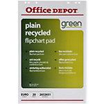 Blocs de papier recyclé pour chevalet Office Depot FL0321503 Euro 70 g