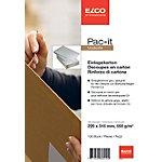 Carton de renfort Elco Pac it 220 (l) x 315 (H) mm Gris 100 Unités