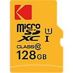 Carte mémoire microSDXC  Kodak UHS I U1 Premiun 128 Go