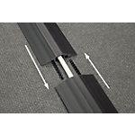 Cache câbles D Line Linkable Noir 8,3 x 900 x 1 cm
