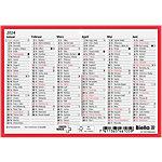 Biella Calendrier A6 2020