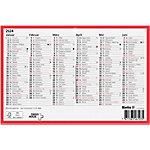 Biella Calendrier 2020 2020 23.5 x 15.5 cm