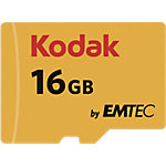 Carte mémoire Kodak Micro SDHC 16 Go