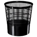 Corbeille à papier CEP Ecoline 237 Noir Polypropylène 29,8 cm x 31,4 cm