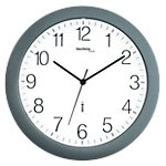 Horloge murale TechnoLine WT8000 30 x 3 cm Blanc