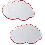 Cartes de présentation Franken Nuage Rouge, blanc 62 x 38 cm 20 Unités 20 Unités