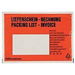 Enveloppes de facturation Office Depot C6 110 x 175 mm 250 Unités