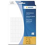 Étiquettes HERMA 2330 Blanc 10 x 16 mm 32 Feuilles de 81 Étiquettes 2330