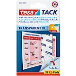 Pastilles adhésives tesa TACK XL 59404 00000 00 Transparent 84 g 36 Unités