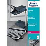 Transparents pour rétroprojecteur AVERY Zweckform 3552 Transparent A4 100 Feuilles