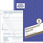Reçus de dépenses AVERY Zweckform 745 Assortiment A5 21 x 0,5 x 14,9 cm 50 Feuilles