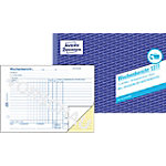Rapport hebdomadaire AVERY Zweckform 1311 Blanc, jaune, bleu A5 paysage 14,8 x 21 cm 50 Feuilles