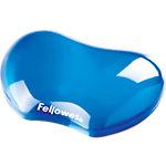 Repose poignet Fellowes Crystal Gel Flex Bleu