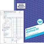 Comptabilité des frais de déplacement AVERY Zweckform 743 Blanc A5 21 x 0,5 x 14,9 cm 50 Feuilles