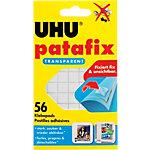 Pastilles adhésives UHU Patafix Transparent 56 Unités