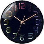 TechnoLine Horloge murale WT 7410 31 x 3 cm Noir