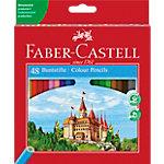 Crayons de couleur Faber Castell 111248 Assortiment 48 Unités