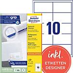 Étiquettes universelles AVERY Zweckform 3679 A4 Blanc 97 x 55 mm 100 Feuilles de 10 Étiquettes