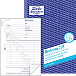Formulaires de facture AVERY Zweckform 704 Blanc A5 14,9 x 0,9 x 21 cm 2 de 50 Feuilles