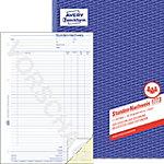 Registre d'heures travaillées AVERY Zweckform 1773 Blanc, jaune A4 21 x 29.7 cm 2 de 40 Feuilles