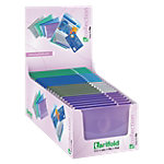 Porte carte Tarifold 510299 Violet, gris, bleu, vert 10.2 x 1 x 7.5 cm 24 Unités
