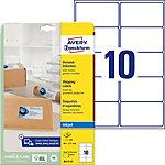 Étiquettes universellesAVERY Zweckform J8173 25 QuickDry Blanc A4 99,1 x 57 mm 10 Feuilles de 25 Étiquettes