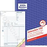 Carnet de bons de livraison AVERY Zweckform 1763 Blanc, jaune, rose A5 14,8 x 21 cm 40 Feuilles