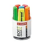 Surligneurs et étui STABILO Boss Original Biseautée Assortiment de couleurs 6 Unités
