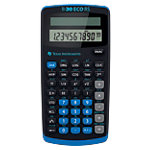 Calculatrice scientifique Texas Instruments TI 30 ECO RS Noir