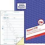 Formulaires d'affaires AVERY Zweckform 1776 Blanc, jaune A5 40 Feuilles